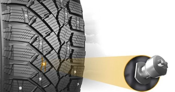Continental Ice Contact BD 4X4 225-70 R16 (шип. BD)