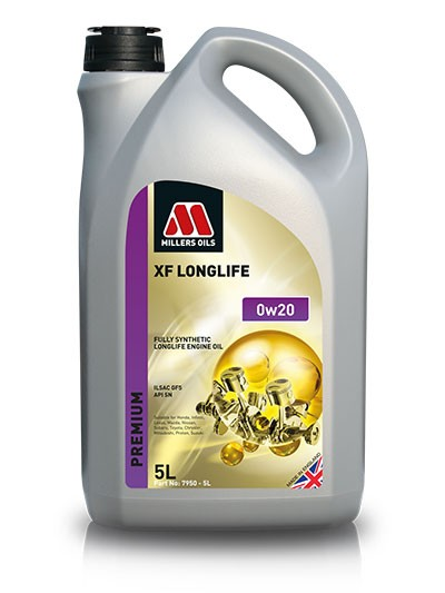 Millers Oils XF Long Life 0w20, 5л