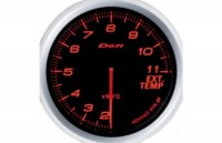DEFI Advance BF  Exhaust Temp.Meter 60 ADV-BF, Red