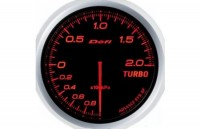 DEFI Advance BF Turbo. Meter, Red